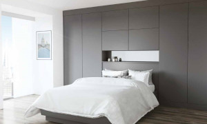 Alto Bedrooms - Supermatt Graphite