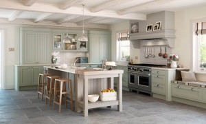 Mayfair - Painted Stone (Island) and Sage Green